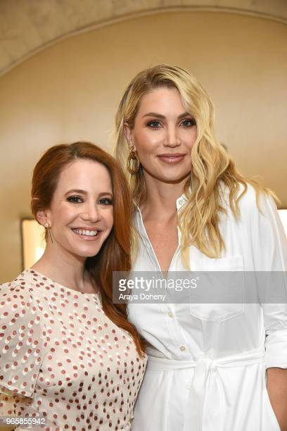 Amy Davidson and Willa Ford attend Step Up's 14th Annual Inspiration Awards at the Beverly Wilshire Four Seasons Hotel on June 1 2018 in Beverly...