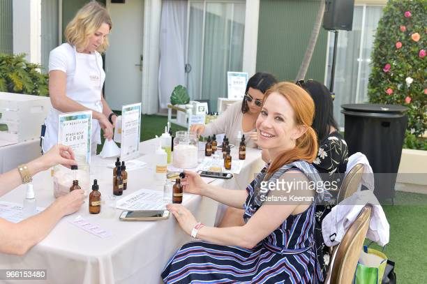 Amy Davidson attends Neocell Presents Bloom Summit at The Beverly Hilton Hotel on June 2 2018 in Beverly Hills California