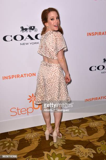 Amy Davidson attends Step Up's 14th annual Inspiration Awards at the Beverly Wilshire Four Seasons Hotel on June 1 2018 in Beverly Hills California
