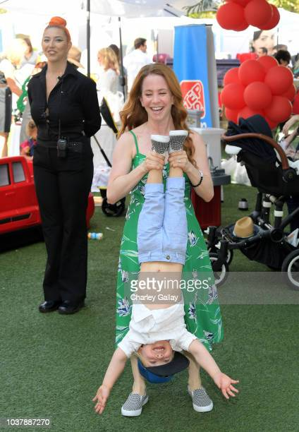 Amy Davidson attends Step2 Presents 7th Annual Celebrity Red CARpet event by New Bloom Media Benefitting Baby2Baby at Sony Pictures Studios on...