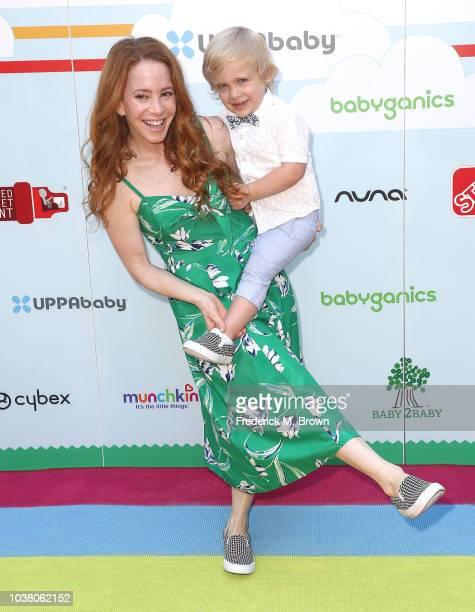 Amy Davidson attends Step2 Presents 7th Annual Celebrity Red CARpet Event by New Bloom Media Benefiting Baby 2 Baby at Sony Pictures Studios on...
