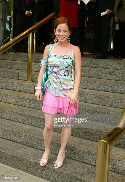 Amy Davidson during ABC 20042005 Upfront Arrivals at Midtown Hotel and Cipriani's in New York City New York United States