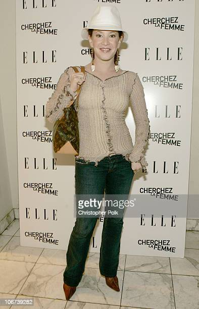 Amy Davidson during Elle Magazine Hollywood's Hottest Stars at The Argyle in Hollywood California United States