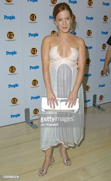 Amy Davidson during Entertainment Tonight Emmy Party Sponsored by People Magazine Arrivals at The Mondrian in West Hollywood California United States
