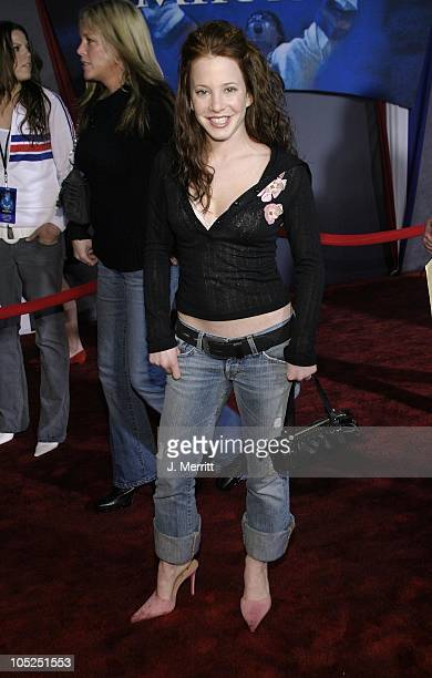 Amy Davidson during Miracle Los Angeles Premiere at The El Capitan Theatre in Hollywood California United States