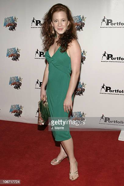 Amy Davidson during Portfolio 2004 and Animal Avengers Host Graduation Fashion Show and Dinner Arrivals at The Beverly Hills Hotel in Beverly Hills...
