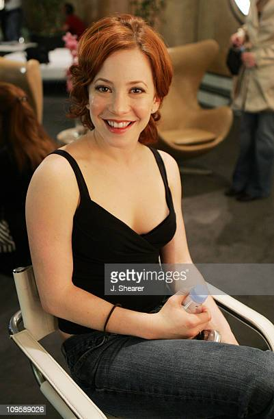 Amy Davidson during Red Carpet'05 Benefiting the Dream Foundation Fashion Show Backstage at The Pacific Design Center in West Hollywood California...