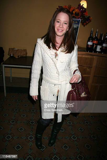 Amy Davidson during There Used To Be Fireflies Opening Night January 20 2007 at Play Opening in Los Angeles California United States