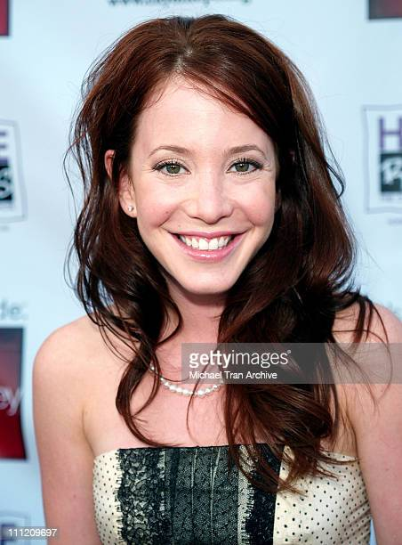 Amy Davidson during Young Hollywood Says 'Hope Rocks' Concert to Benefit City of Hope Arrivals at Key Club in Los Angeles California United States