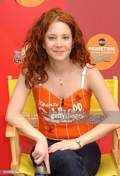 Amy Davidson of '8 Simple Rules' during ABC Primetime Preview Weekend at Disney's California Adventure in Anaheim California United States