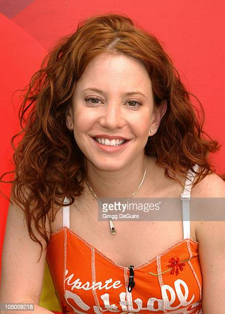 Amy Davidson of 8 Simple Rules during ABC Primetime Preview Weekend at Disney's California Adventure in Anaheim California United States