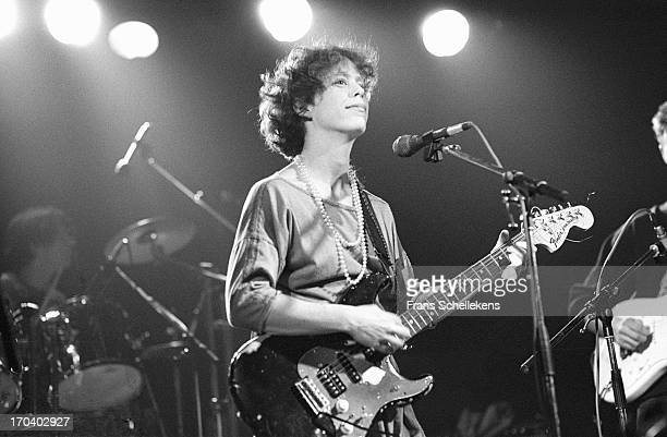 Amy Denio from Tone Dogs performs live on stage at the Patronaat in Haarlem, the Netherlands on 25th November 1988.