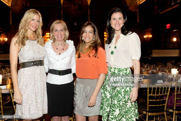Amy Denoon Elizabeth Reid Karla Farach and Lydia Fenet attend WARREN TRICOMI Haircare KROIA Skincare and BECCA Cosmetics at The Oak Room on May 11...