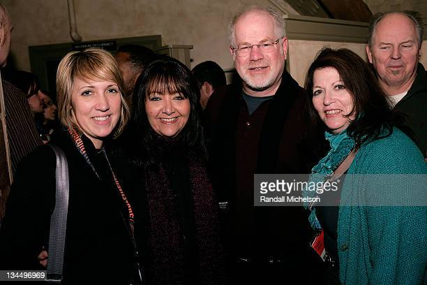 Amy Dotson Doreen RingerRoss Scott Holtzman and Paula Silver attend the Zoom Dinner presented by BMI during the 2008 Sundance Film Festival on...