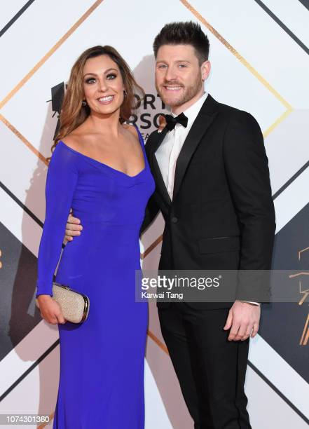 Amy Dowden and Ben Jones attend the 2018 BBC Sports Personality Of The Year at The Vox Conference Centre on December 15 2018 in Birmingham England
