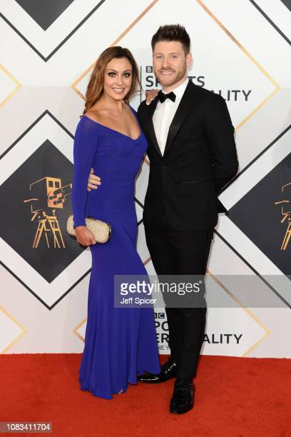 Amy Dowden and Ben Jones attend the 2018 BBC Sports Personality Of The Year at The Vox Conference Centre on December 16 2018 in Birmingham England