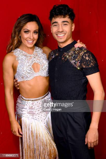 Amy Dowden and Karim Zeroual during the Strictly Come Dancing Arena Tour 2020 at Arena Birmingham on January 15, 2020 in Birmingham, England.
