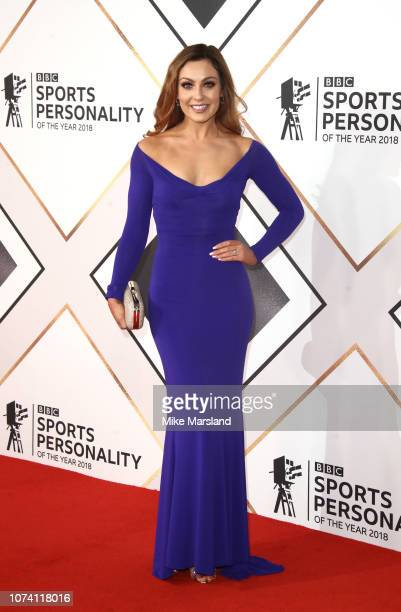 Amy Dowden attends the 2018 BBC Sports Personality Of The Year at The Vox Conference Centre on December 16 2018 in Birmingham England