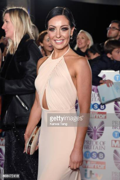 Amy Dowden attends the Pride Of Britain Awards at the Grosvenor House on October 30 2017 in London England