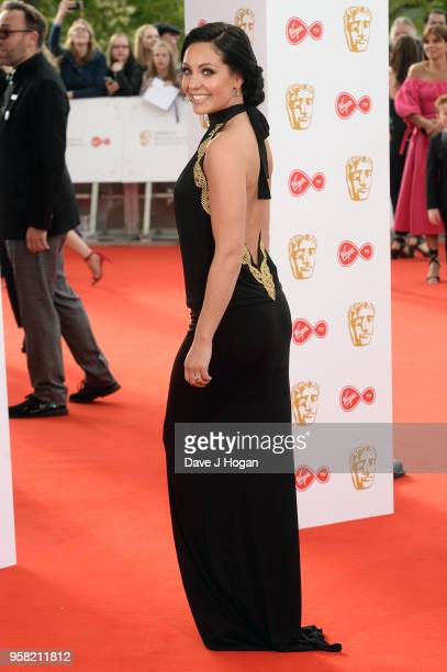 Amy Dowden attends the Virgin TV British Academy Television Awards at The Royal Festival Hall on May 13 2018 in London England