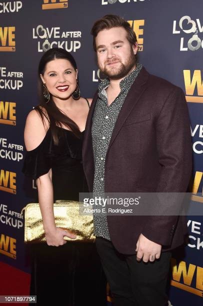 Amy Duggar and Dillon King attend WE tv celebrates the return of 'Love After Lockup' with panel 'Real Love Relationship Reality TV's Past Present...