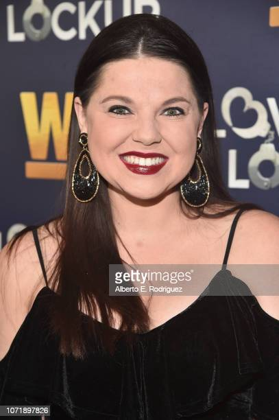 Amy Duggar attends WE tv celebrates the return of 'Love After Lockup' with panel 'Real Love Relationship Reality TV's Past Present Future' at The...
