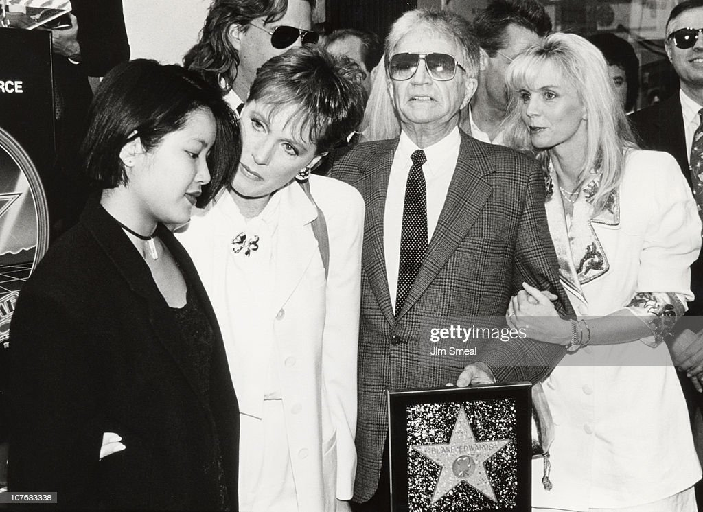 Blake Edwards Honored with a Star on the Hollywood Walk of Fame : News Photo