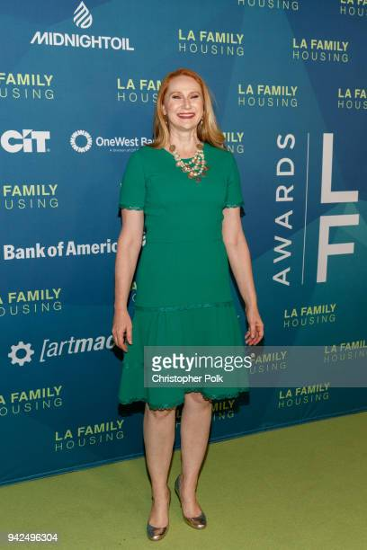 Amy Elaine Wakeland arrives to the LAFH Awards at The Lot in West Hollywood on April 5 2018 in West Hollywood California