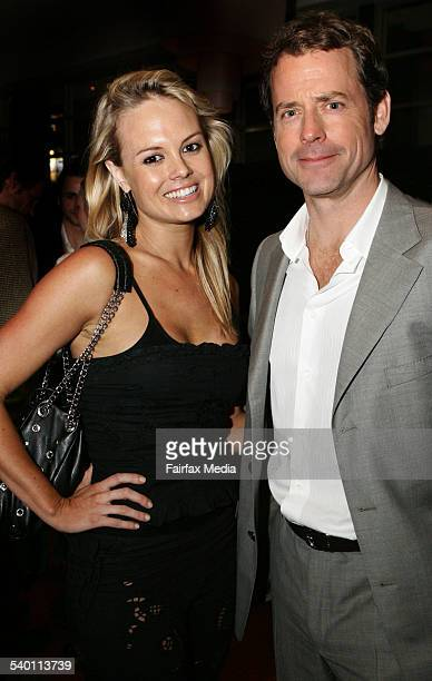 Amy Erbacher and Greg Kinnear at the 'Little Miss Sunshine' film premiere after-party at the Arena Bar in the Entertainment Quarter, Moore Park,...