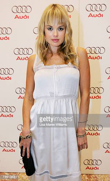 Amy Erbacher attends the Audi TT and Audi Art Prize Official Launch event opening the TT Movement exhibition which celebrates the launch of t he new...