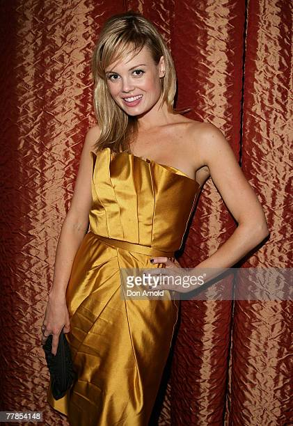 Amy Erbacher attends the Kate Waterhouse Melbourne Cup Party at the Zeta Bar at The Hilton Hotel on November 6 2007 in Sydney Australia