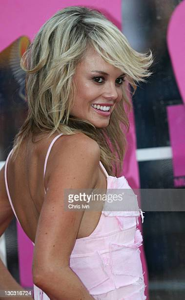 Amy Erbacher during 2005 MTV Australia Video Music Awards Arrivals at Luna Park in Sydney New South Wales Australia