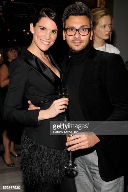 Amy Erbesfeld and Thierry Pichon attend LOUIS VUITTON 2010 Cruise Collection Launch with MAGGIE GYLLENHAAL at SAKS FIFTH AVENUE at Louis Vuitton Saks...