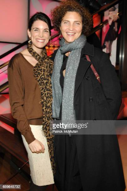 Amy Erbesfeld and Valerie von Fursten attend LOUIS VUITTON Celebrates L'Excellence du Savoir Faire at Louis Vuitton Fifth Ave on October 29 2009 in...