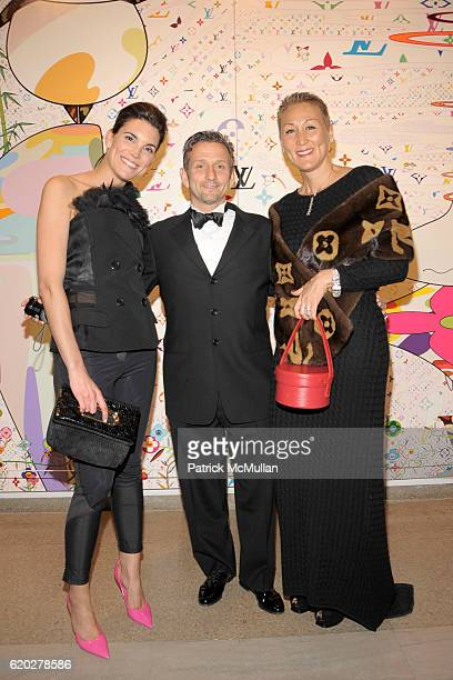Amy Erbesfeld Mark Fisher and Bobbie Fisher attend THE BROOKLYN MUSEUM LOUIS VUITTON honor Artist TAKASHI MURAKAMI at The 2008 Brooklyn Ball...