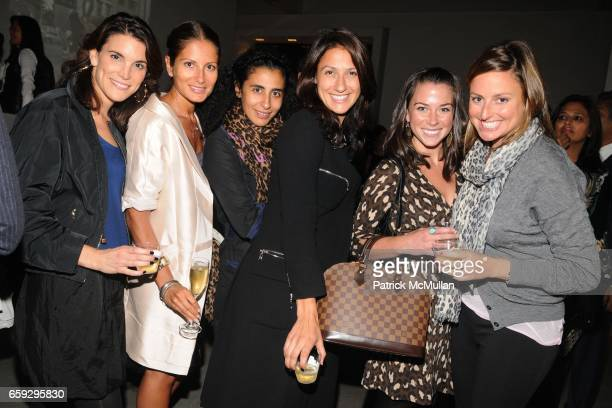 Amy Erbesfeld Sandra Marinello Iana dos Reis Nunes Lauren Silverstein Elizabeth Guerra and Lauren Shaw attend LOUIS VUITTON and PARSONS Present...