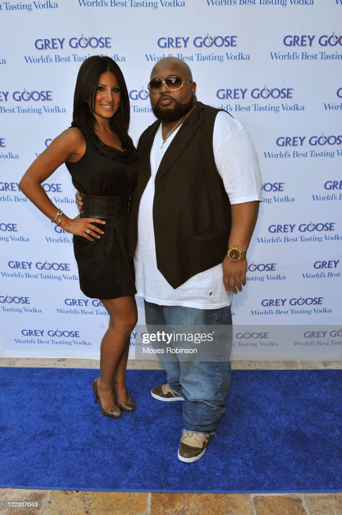 Amy Eslami and Jazze Pha attend the Grey Goose summer soiree on July 1, 2010 in Atlanta, Georgia.