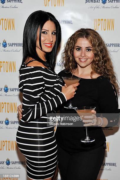 Amy Eslami and Mandy Nichols attend Bombay Sapphire Art of the Martini at 200 Peachtree Grand Atrium on November 16 2011 in Atlanta Georgia