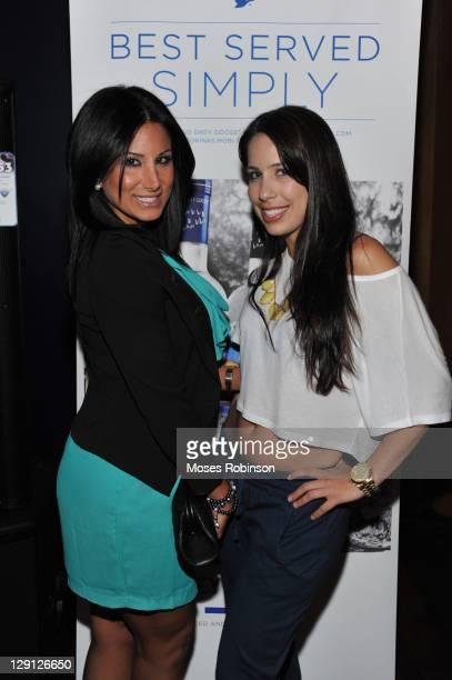 Amy Eslami and Stephanie Flietas attend the American Black Film Festival Atlanta Buzz Party at Luxe Ultra Lounge on April 28 2011 in Atlanta Georgia