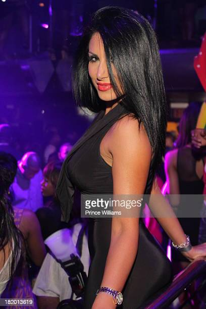 Amy Eslami attends the kick off party for the 2013 BET Hip Hop Awards at Reign Nightclub on September 26 2013 in Atlanta Georgia
