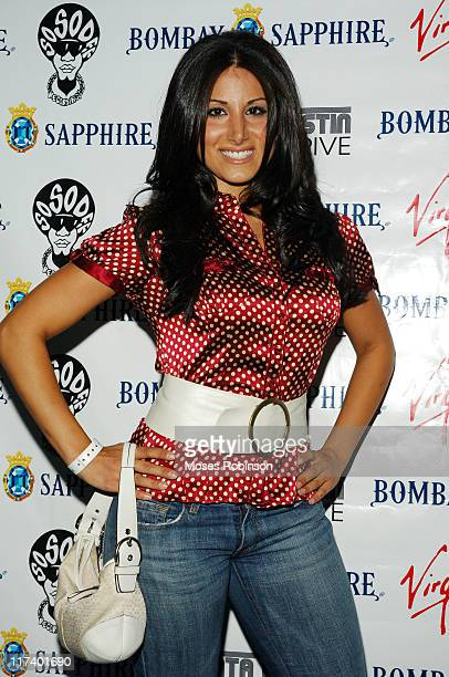 Amy eslami during Jermaine Dupri's Party with Bombay Sapphire for So So Def / Virgin Records New Artist Johnta Austin July 26 2006 at Club Compound...