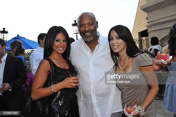 Amy Eslami Reuben Gibson and Stephanie Fleitas attend the Grey Goose summer soiree on July 1 2010 in Atlanta Georgia