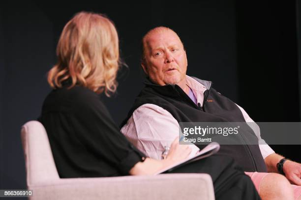 Amy Farley and Mario Batali speak onstage for Passion Play How Jessica Alba and Mario Batali Created Multichannel Marvels during the Fast Company...