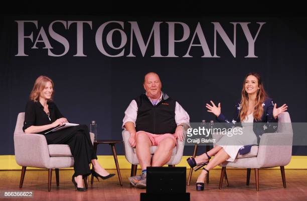 Amy Farley Mario Batali and Jessica Alba speak onstage for Passion Play How Jessica Alba and Mario Batali Created Multichannel Marvels during the...