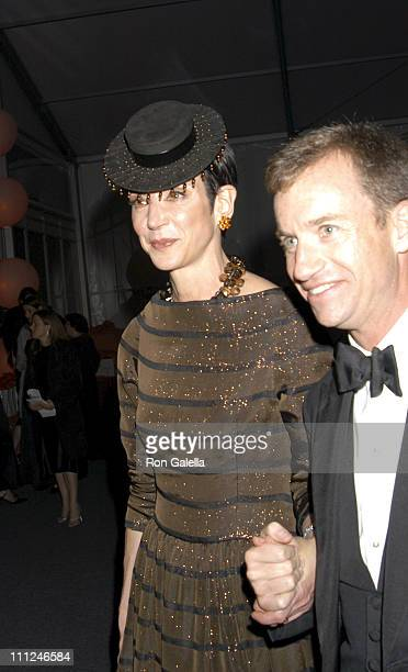 Amy Fine Collins and Alexander Hitz during 65th Annual American Ballet Theatre Spring Gala at Lincoln Center in New York City New York United States