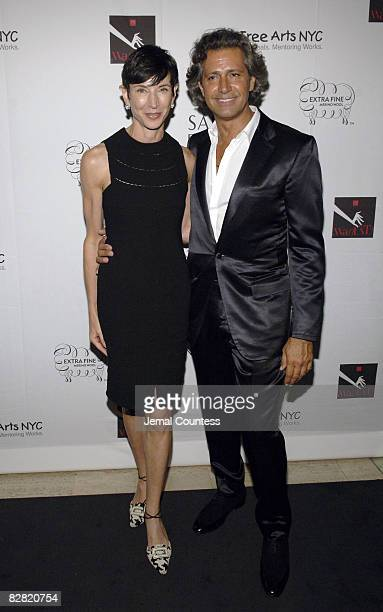 Amy Fine Collins and Carlos Souza