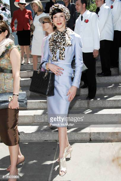 Amy Fine Collins attend CENTRAL PARK CONSERVANCY's 28th Annual Fredrick Law Olmsted Awards Luncheon at Conservatory Garden on May 5th 2010 in New...