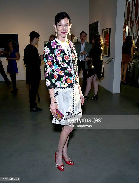 Amy Fine Collins attends 2nd Annual Village Fete Benefiting Pioneer Works Center For Art Innovation at Pioneer Works Center for Arts Innovation on...
