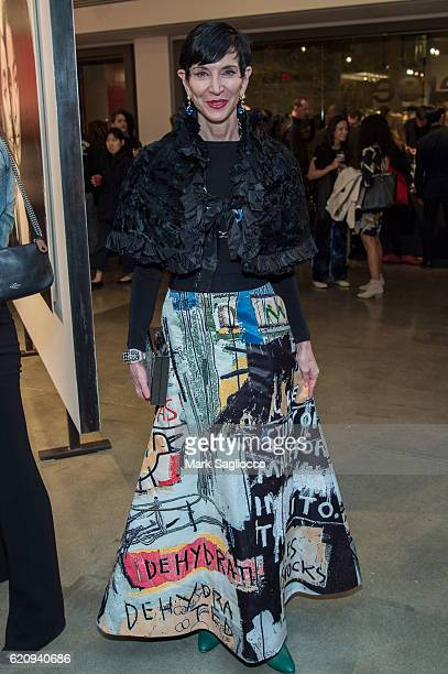 Amy Fine Collins attends Alexi Lubomirski's 'Diverse Beauty' Book Launch Exhibition Opening at Milk Gallery on November 3 2016 in New York City