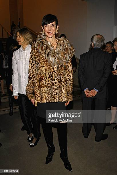 Amy Fine Collins attends PHILIPPE DE MONTEBELLO and THE METROPOLITAN MUSEUM OF ART Celebrate the Opening of the Exhibition NAN KEMPNER AMERICAN CHIC...
